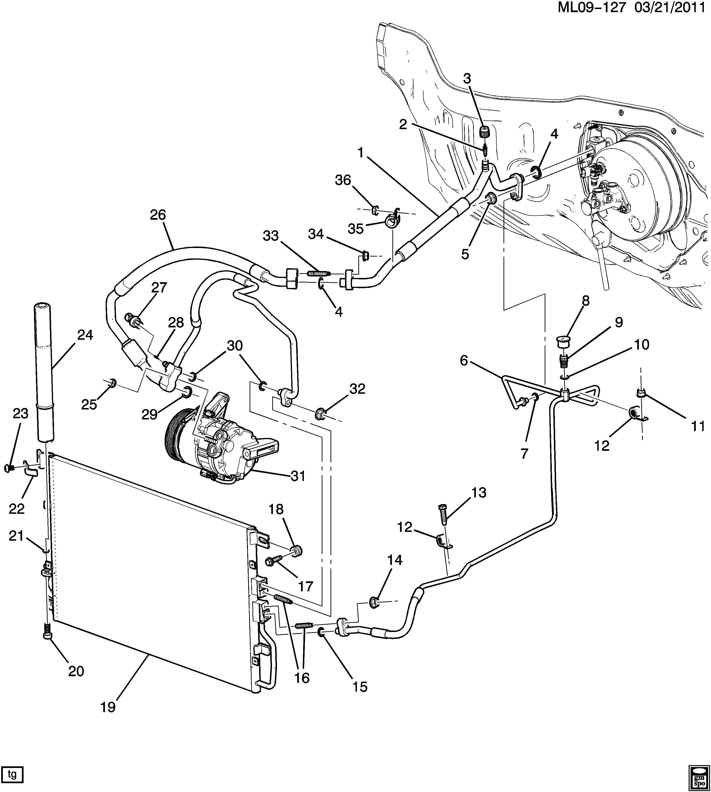 Chevrolet Equinox Ltz Condenser Air Conditioning A