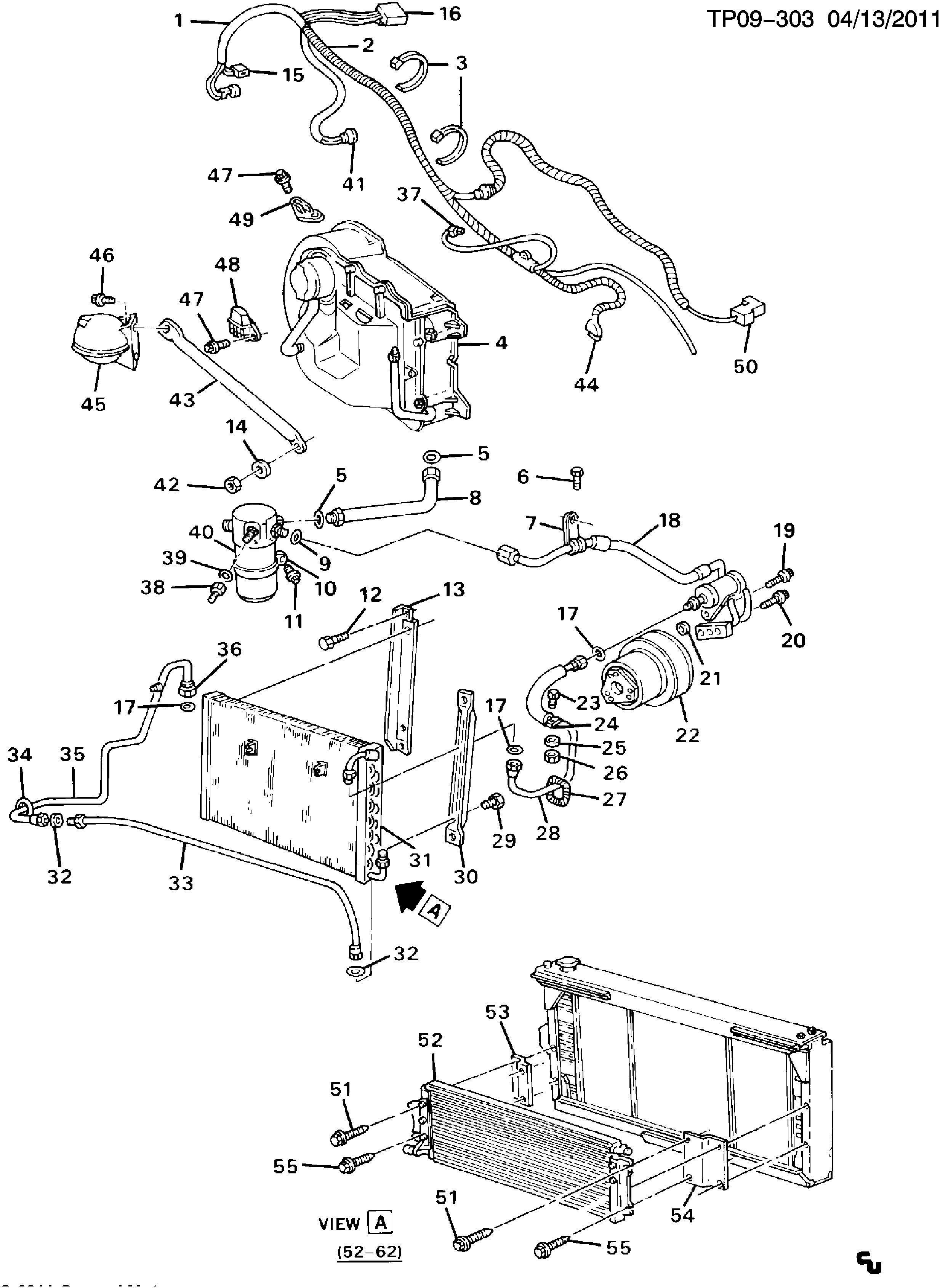 Chevrolet P30 A C Refrigeration System