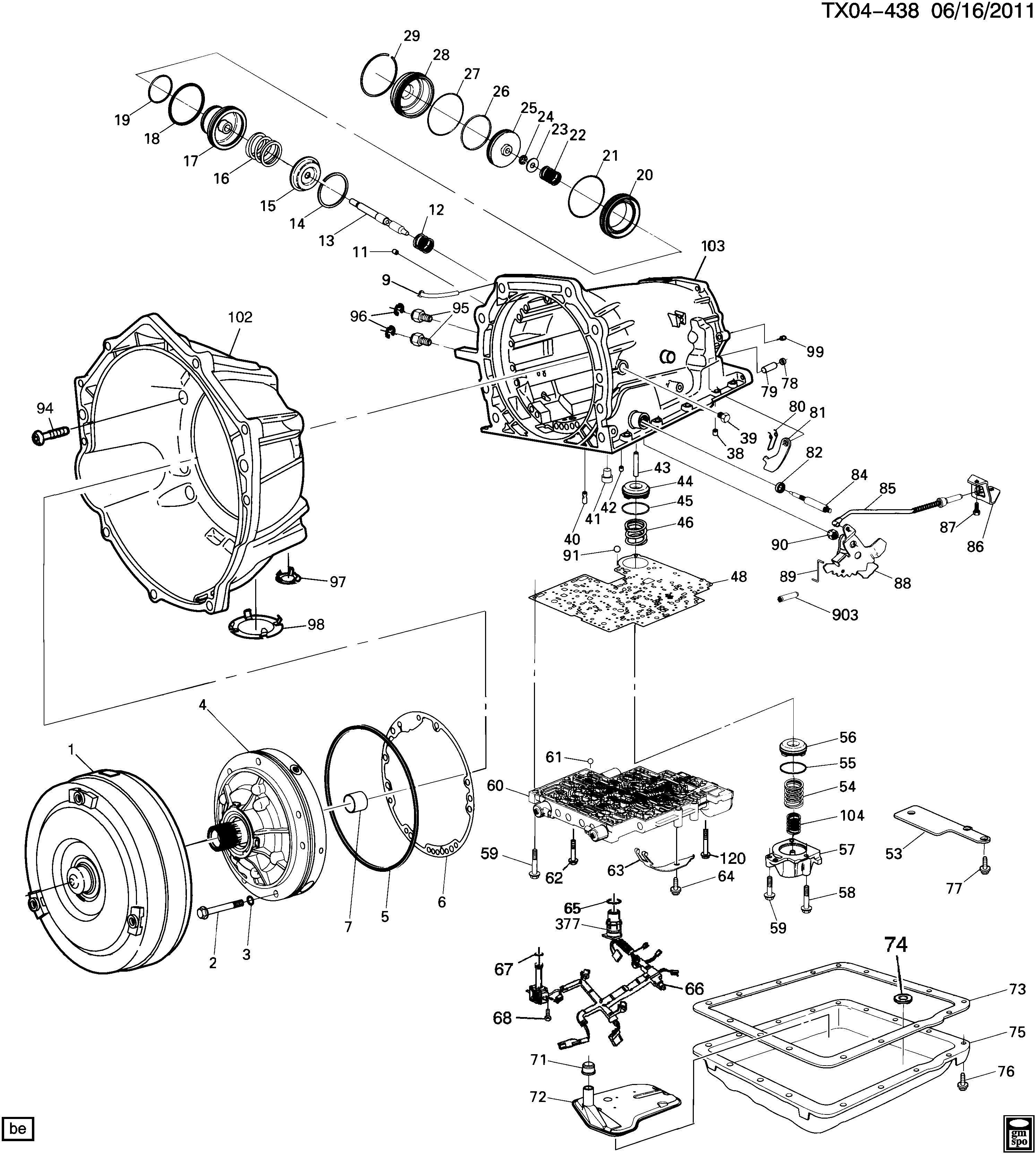 Chevrolet Silverado Magnet Transmission Case