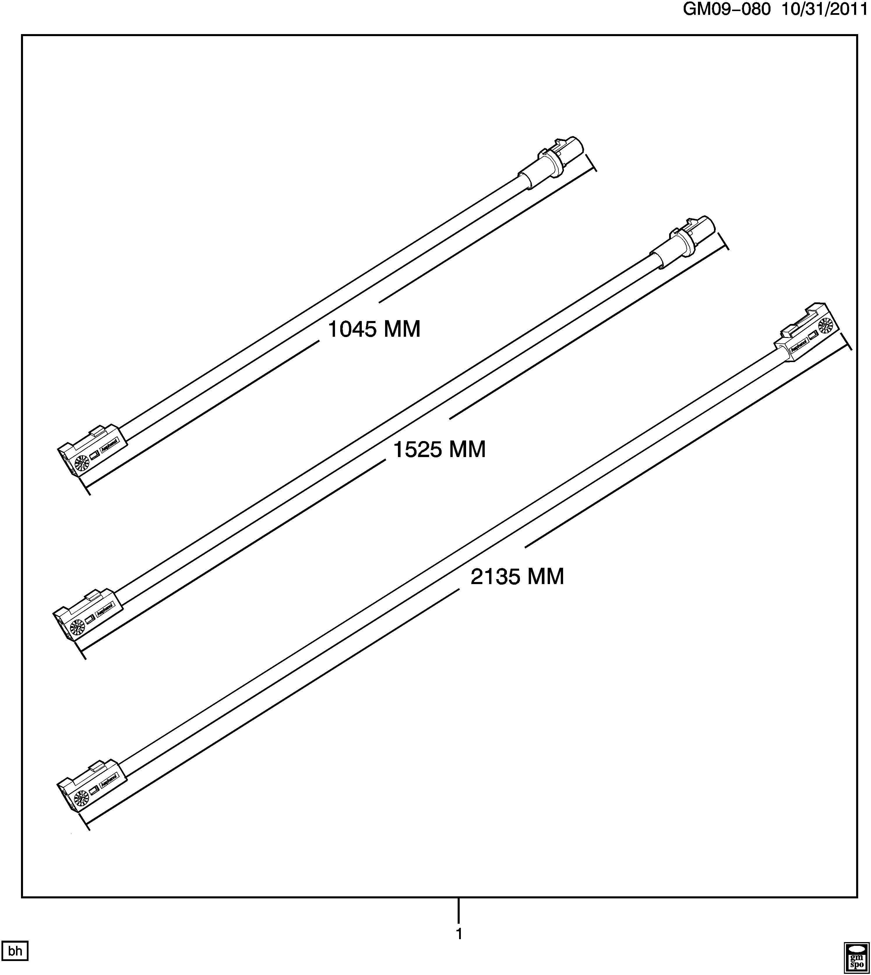 Cadillac Cts Cable Kit Radio Antenna Vehicle Navigation