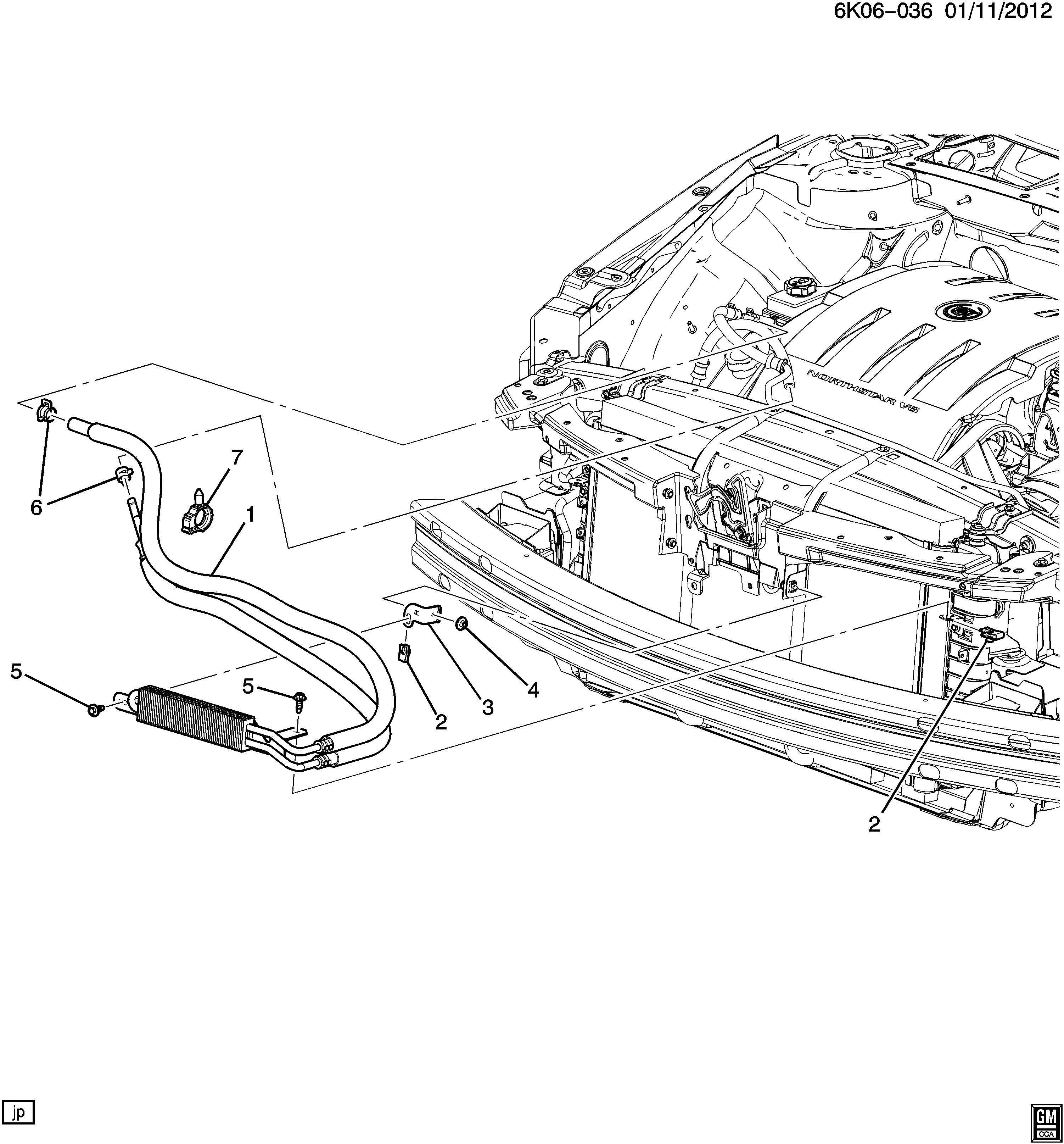Cadillac Dts Cooler Kit Power Steering Fluid Cooler Kit