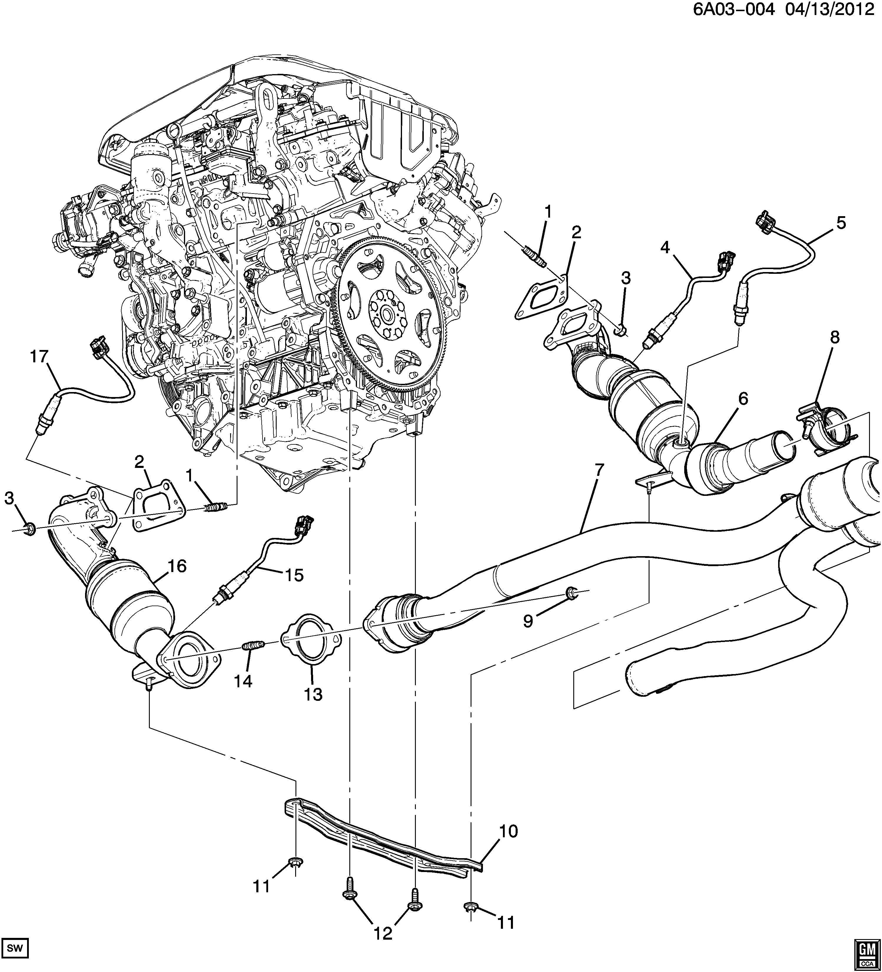 Cadillac Ats Performance Sensor Computer Control