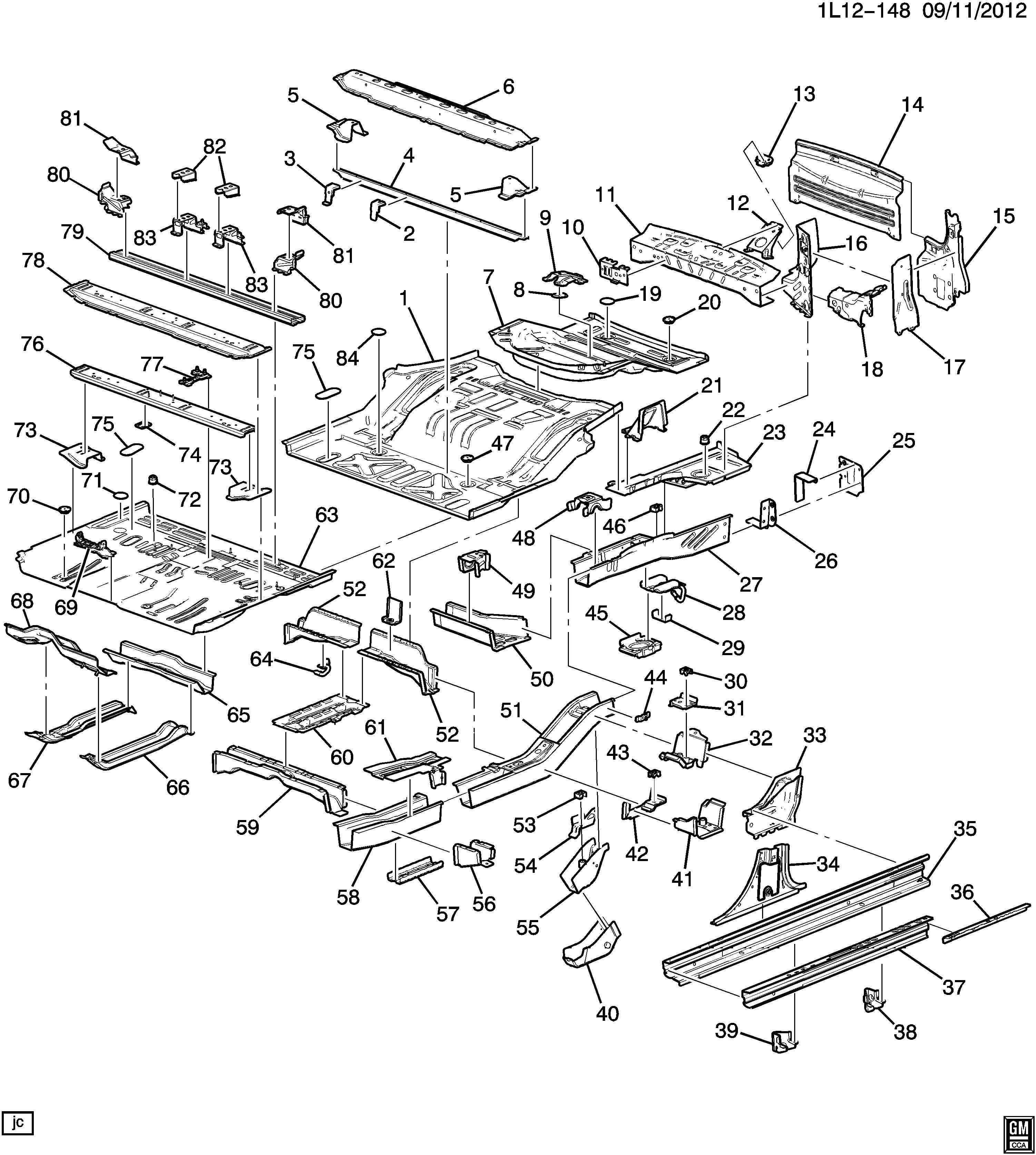 Chevrolet Equinox Bracket Shock Absorber Strut Bracket