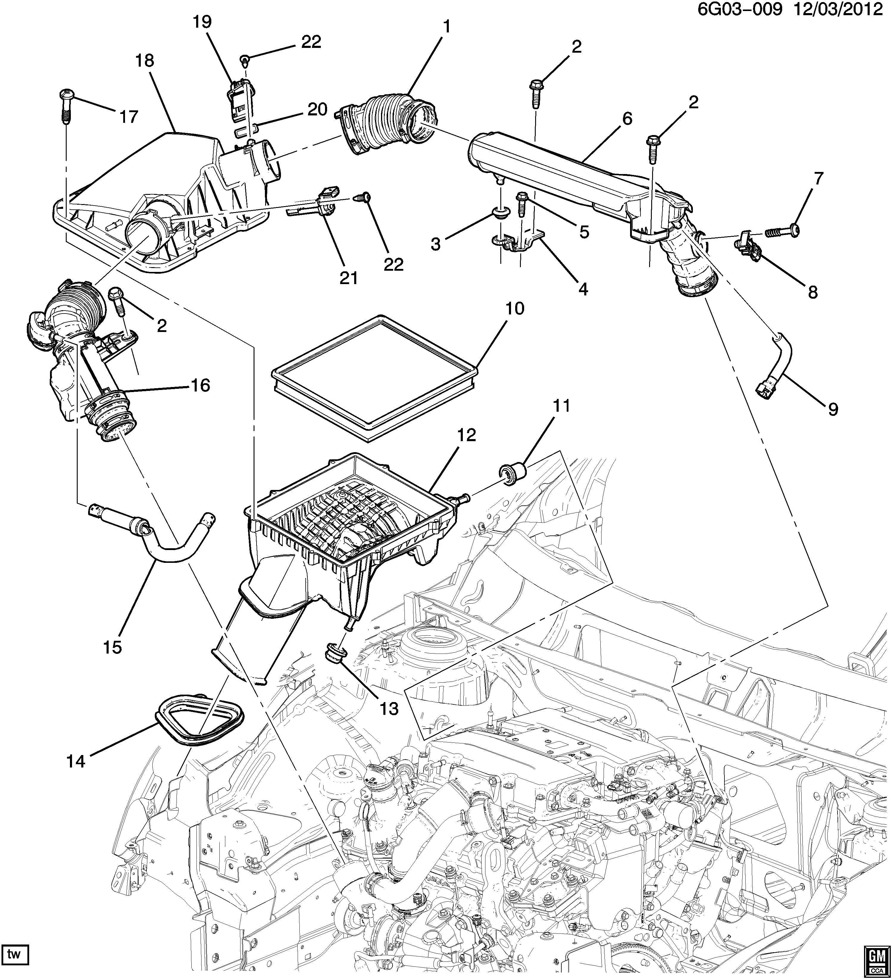 Chevrolet Colorado Sensor Computer Control Sensors
