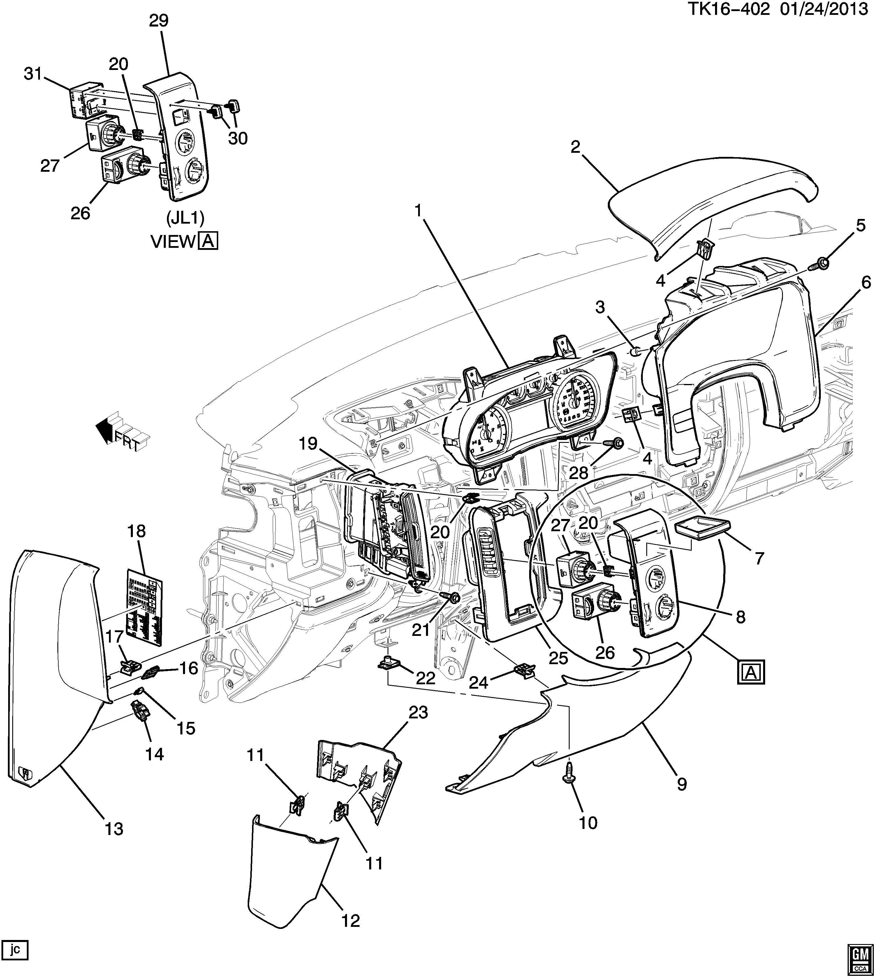 Chevrolet Silverado Switch Transfer Case Shift