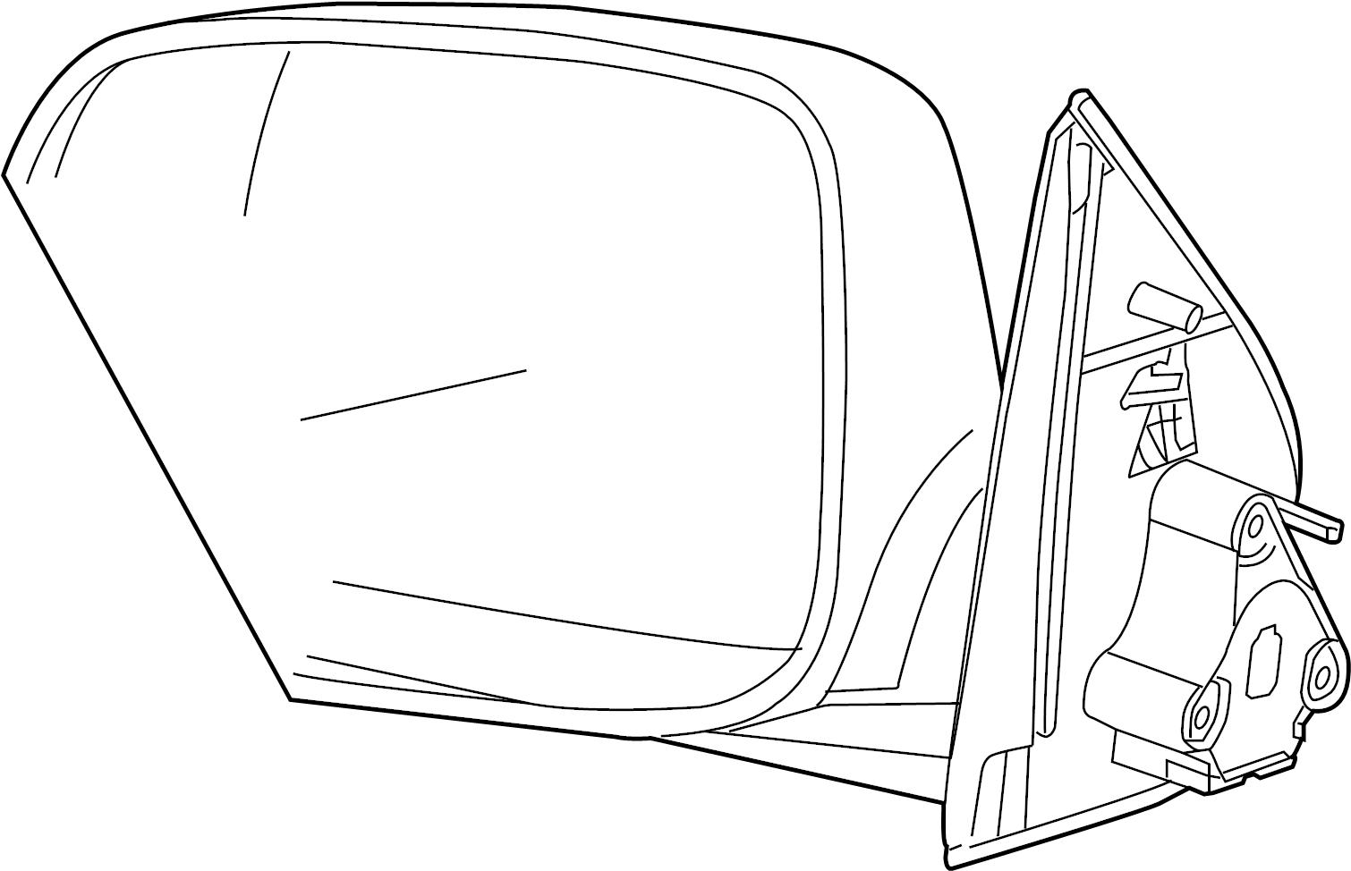 Chevrolet Colorado Mirror Rear View Mirror