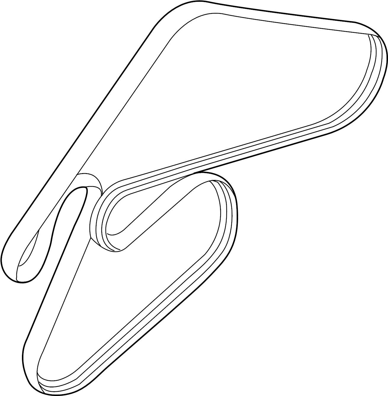 Hyundai Genesis Ribbed Belt