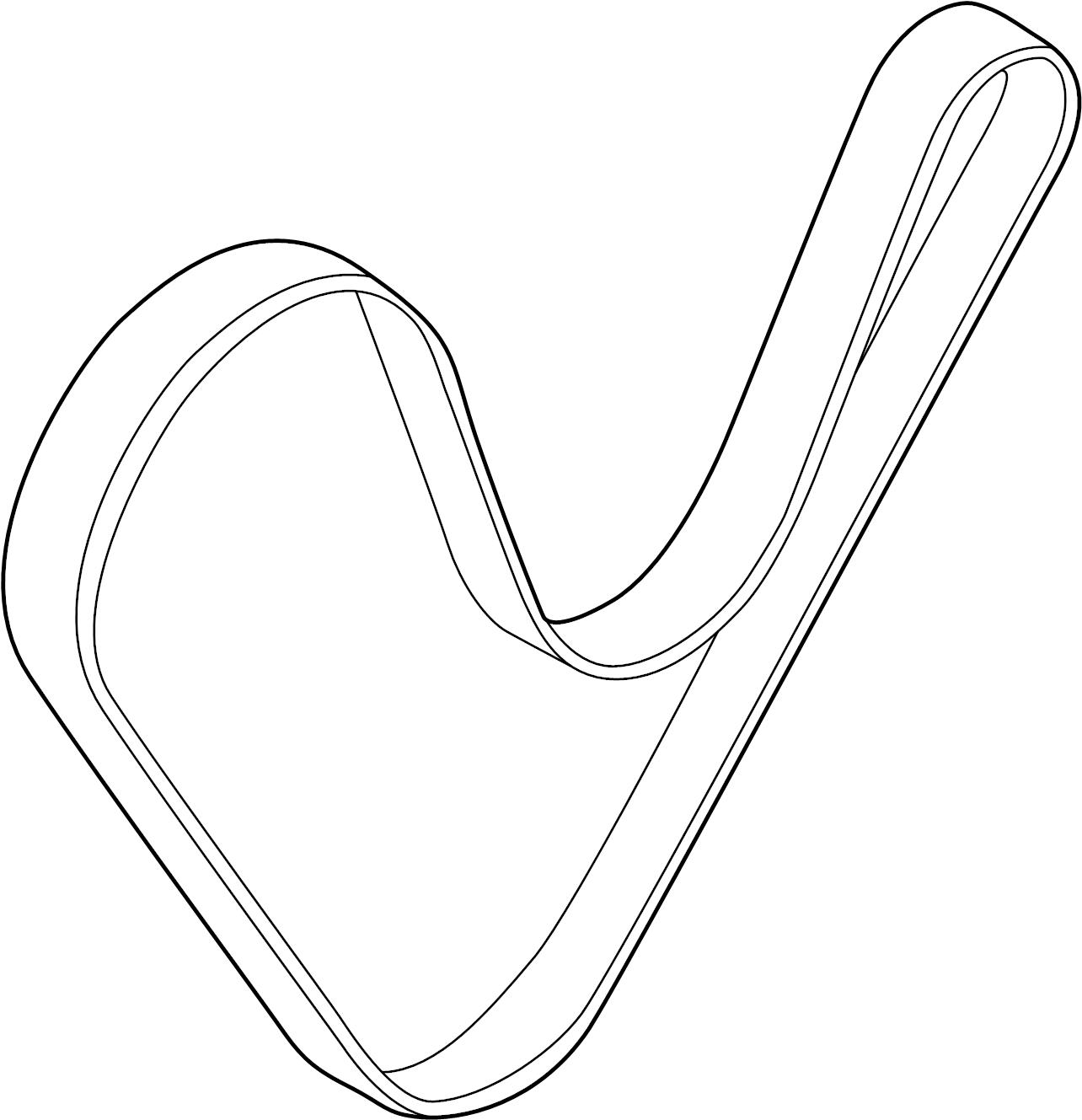 Hyundai Elantra Serpentine Belt Mdps Pulleys Wac