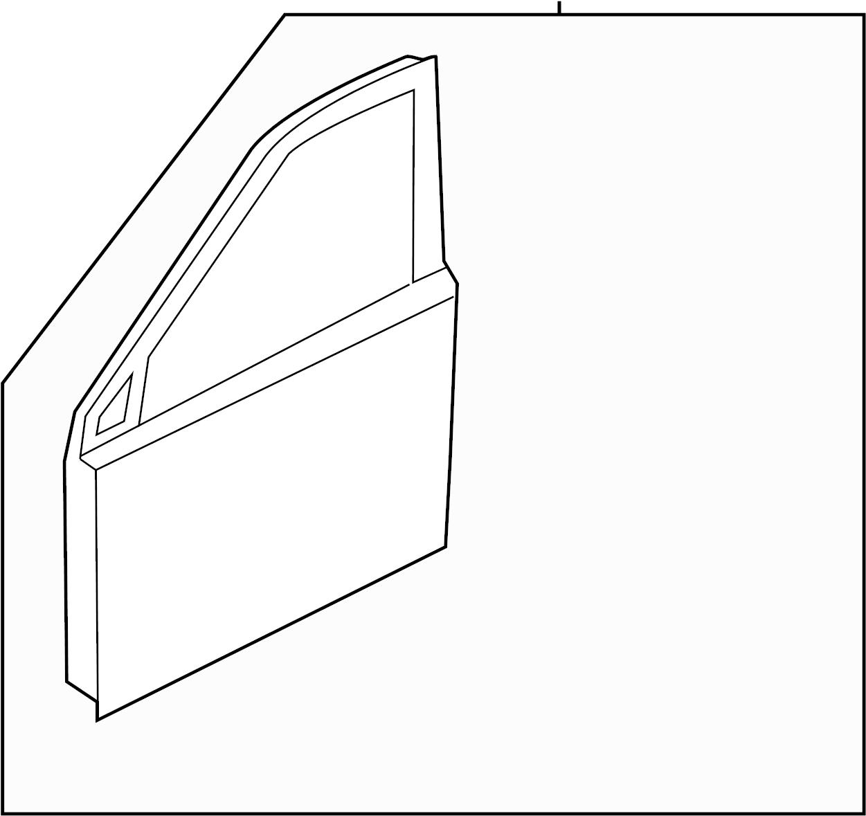 Hyundai Santa Fe Door Shell Panel Assembly