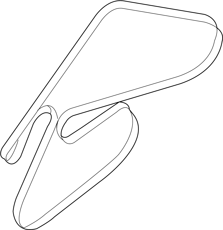 Hyundai Genesis Coupe Belt Serpentine Ribbed Bel