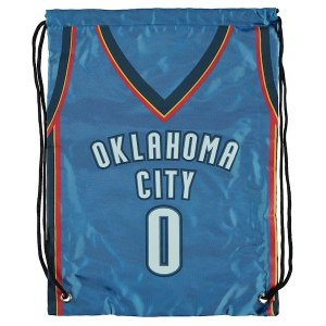 Oklahoma City Thunder Russell Westbrook Player Name Drawstring Backpack