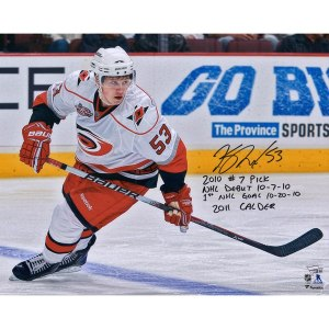 Autographed Carolina Hurricanes Jeff Skinner Fanatics Authentic 16