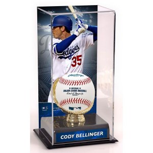 Los Angeles Dodgers Cody Bellinger Fanatics Authentic Sublimated Display Case with Gold Glove Holder