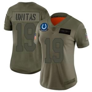 Nike Colts #19 Johnny Unitas Camo Women's Stitched Penguins cheap jersey