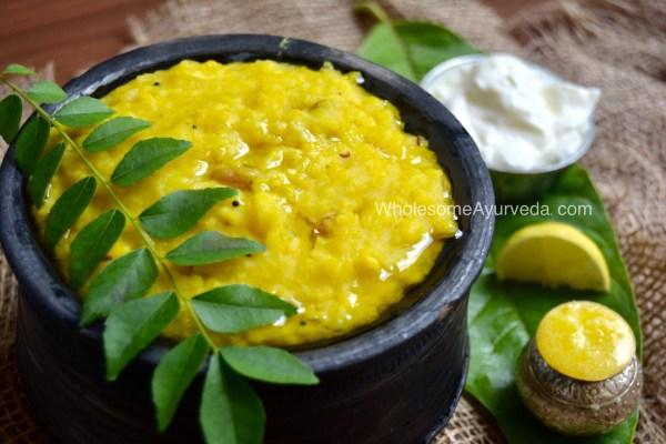 Ayurvedic Khichadi Recipe Benefits Nutrition