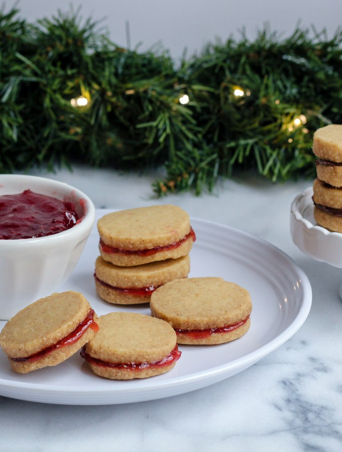 [Recipe] Brown-Butter Shortbread Cookies with Jam | Peace, Love, and Cookies