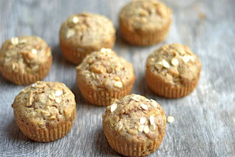Spiced Apple and Zucchini Muffins3