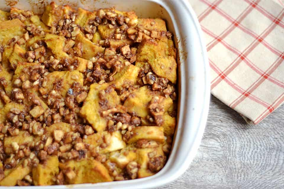Overnight Pumpkin and Apple Streusel French Toast 2