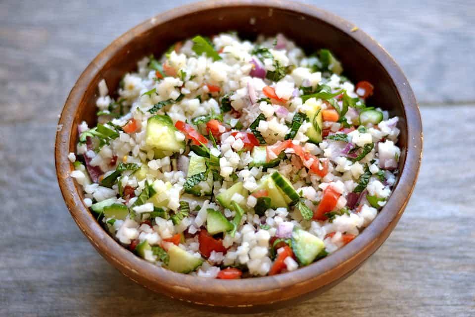 Cauliflower Rice Tabbouleh 2