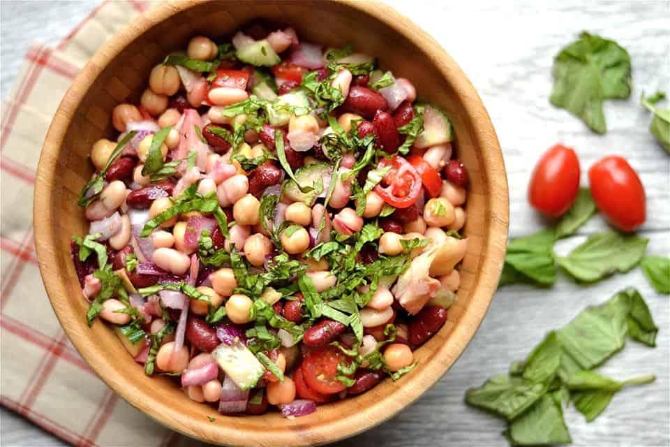 Bean n Artichoke Salad