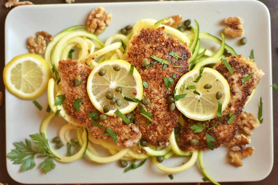 walnut-crusted-lemon-chicken-piccatta