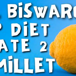 dr biswaroop dip diet latest video plate 1 plate 2 millet protocol siridhanya