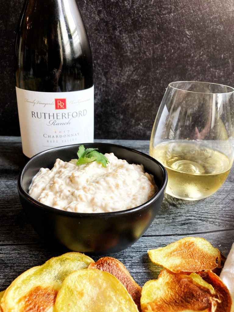 chardonnay and french onion dip