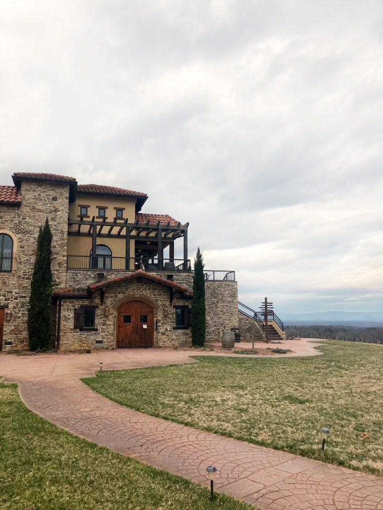 Raffaldini Winery building and grounds