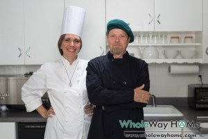 WholeWay Home Your Hosts Anand and Chef Mason