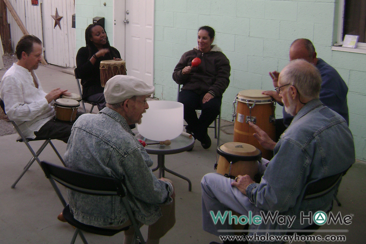 WholeWay Home 7 Drum Circles for all ages