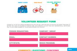 Together We Rise website screenshot