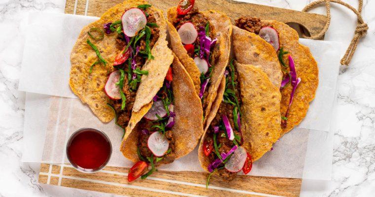 Red Bean & Lentil Tacos
