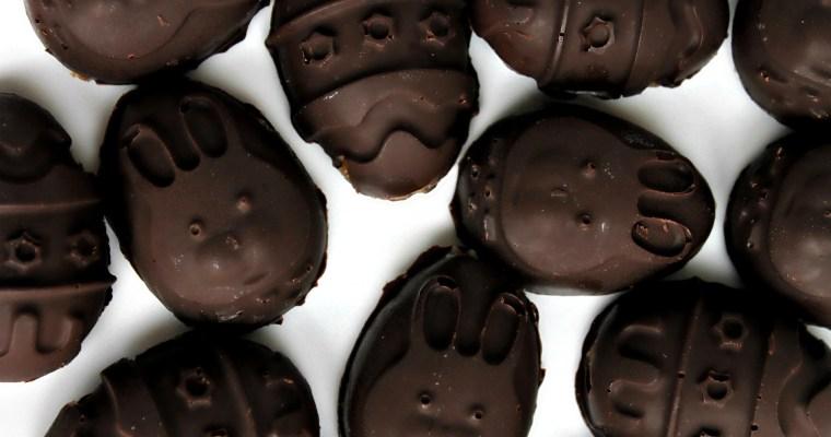Chocolate Peanut Butter Easter Treats