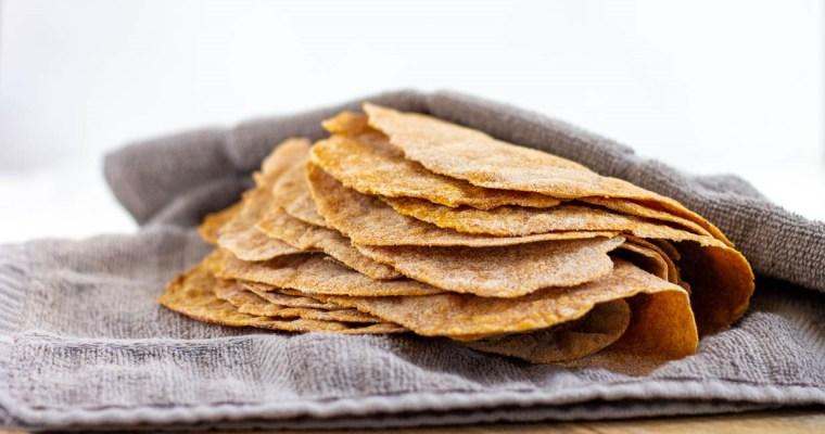 Homemade Whole Wheat Sweet Potato Tortillas