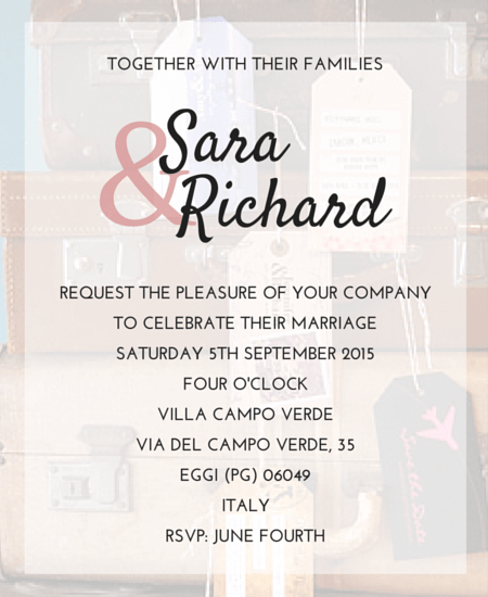 Style And Create The Simple Wedding Invitation Wording From Bride Groom