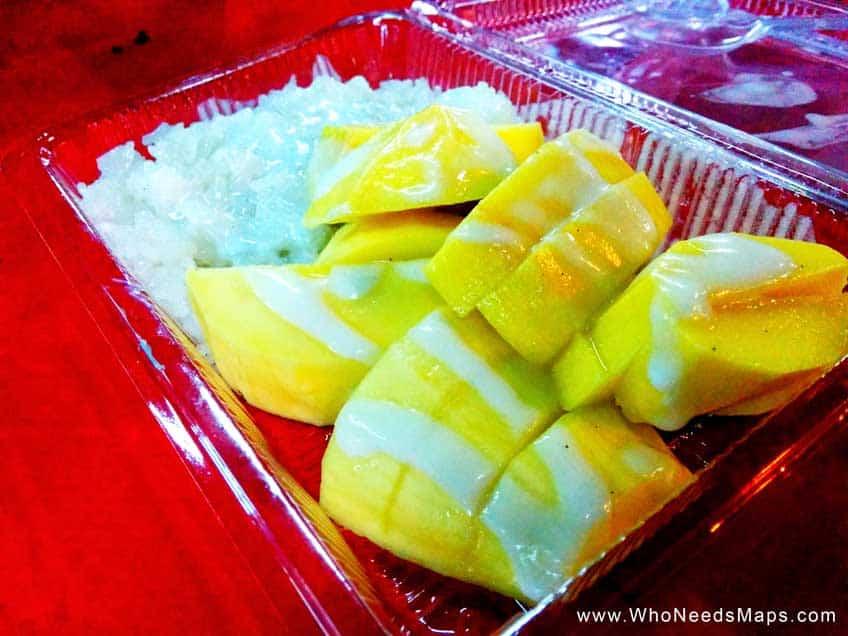 Best Southeast Asian Food - mango sticky rice