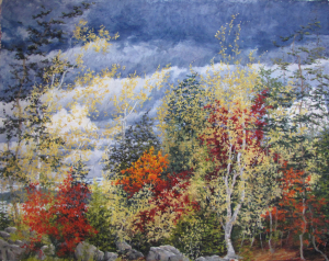 Maine Fall Trees