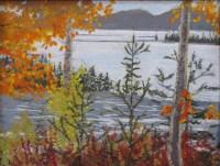 Maine Fall Pastel