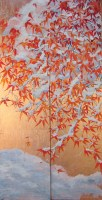 Fall Maple Snow Painting