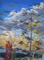 Pastel Maine Clouds