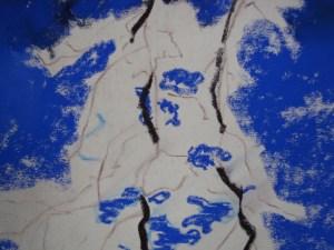 Winter Tree Pastel