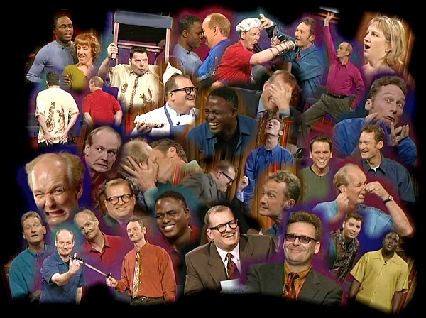 Whose Line Collage