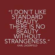 There is no beauty without strangeness