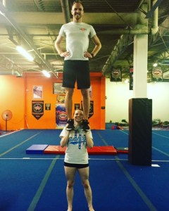 Hands Prep Stunt United Cheer Dallas