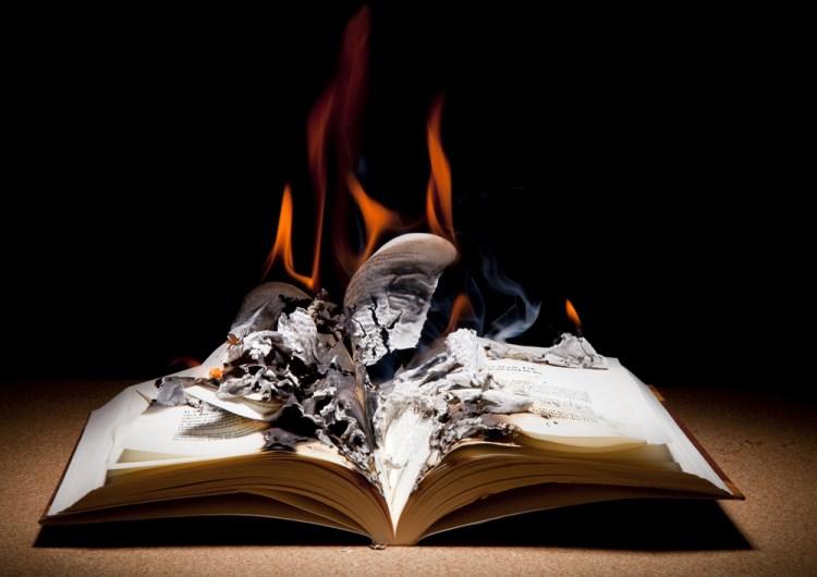 book burning