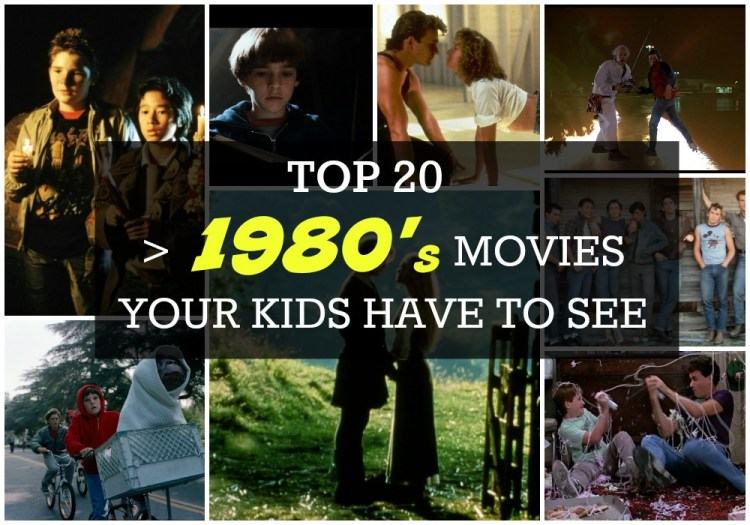 top 20 kids movies from the 1980s
