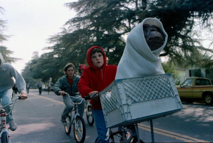 Classic 1980s movies ET