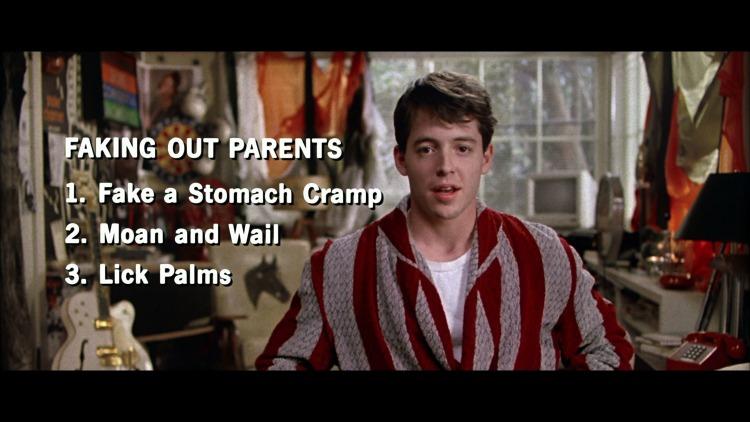 Ferris Bueller best movie for kids