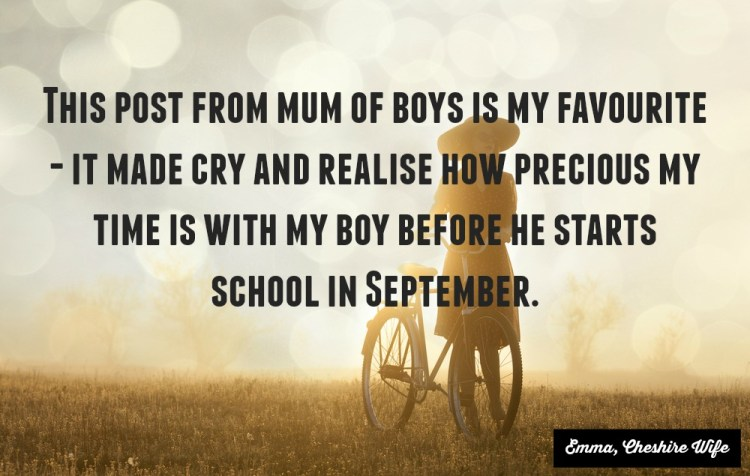 mum of boys