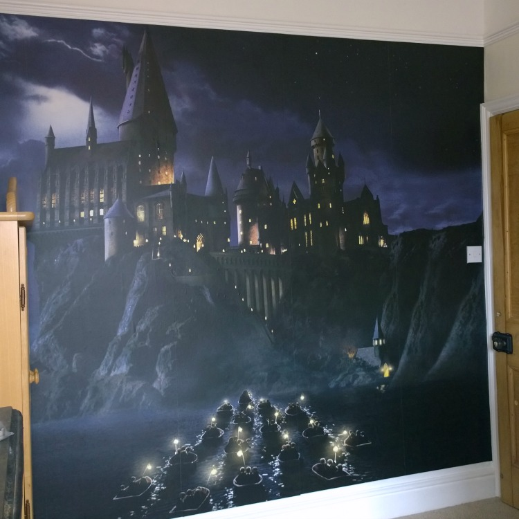 Harry Potter Wall Mural Wallpaper